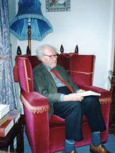 RS Thomas in 1993